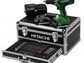 Avvitatore HITACHI DV18DJL con box 100 accessori assortiti