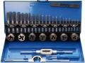 Set maschi e filiere BGS 901 M3-M12 da 32 pezzi