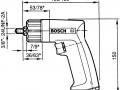 schema tecnico trapano BOSCH 0 607 160 509