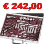 Valigia con 109 utensili Kraftwerk 4055