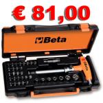 Assortimento 7 chiavi a bussola BETA 900/C36