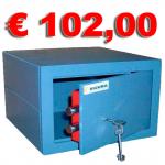 Cassaforte a chiave mod. HCE - 256